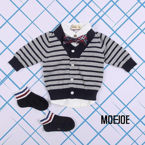 Baby Stripped Lightweight Sweater