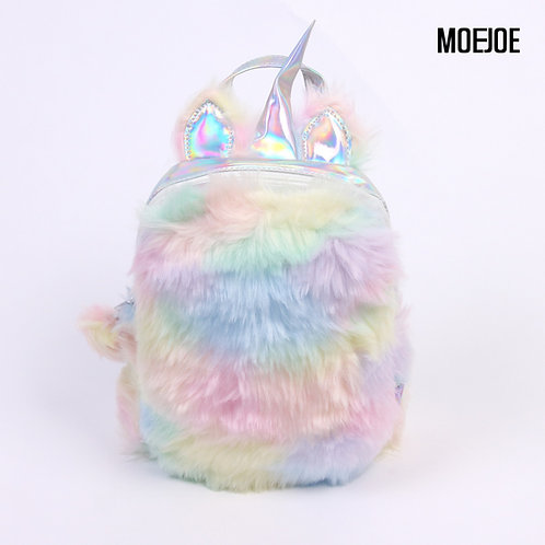 MOEJOE Fluffy Unicorn Bag
