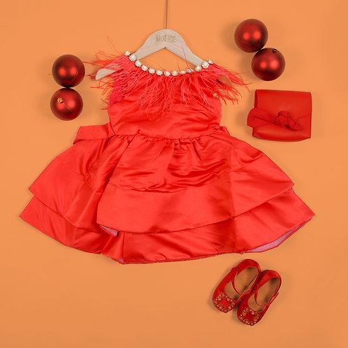 Moejoe Girl Tassel Dress