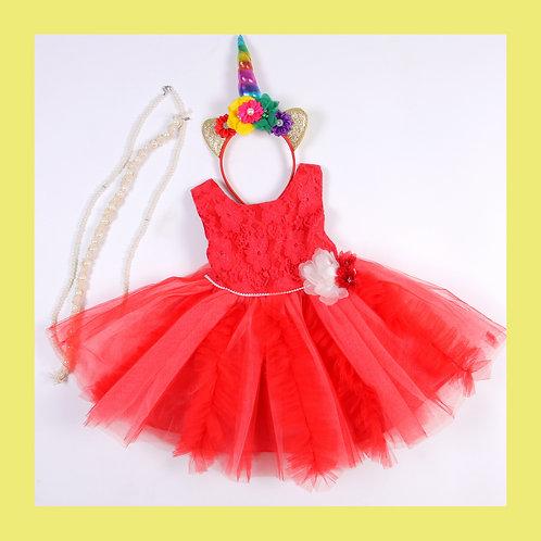 Belle Puff Dress