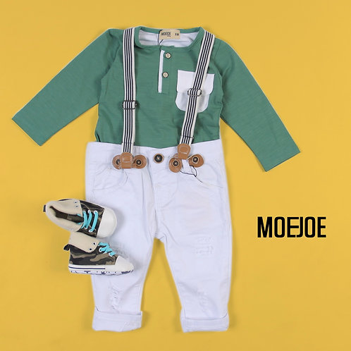 Baby T-Shirt Long Sleeve with Pocket Details