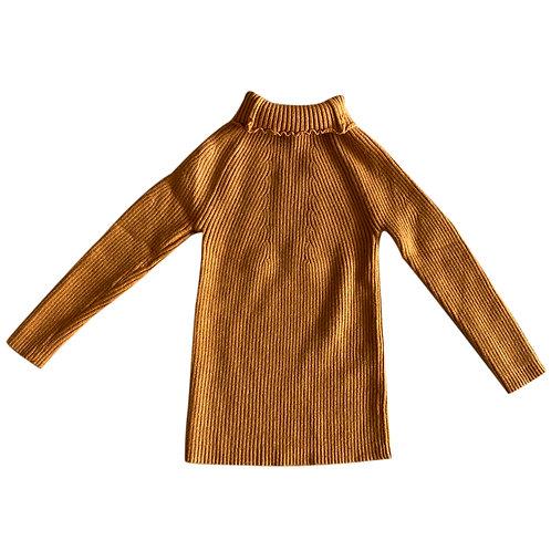 Moejoe Girl Plain Knit Top