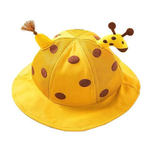Moejoe Giraffe Hat with Face Shield