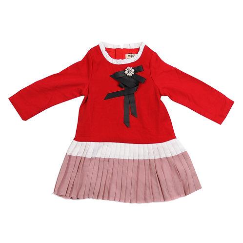 Moejoe Girl Three Color Dress