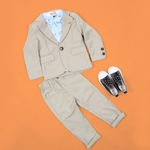 Moejoe Boy Brown Coat