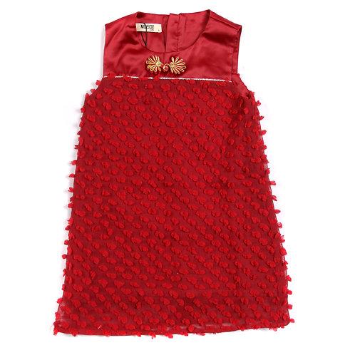 Moejoe Girl Golden Flower Dress