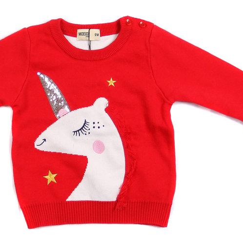 Moejoe Baby Girl Unicorn Sweater