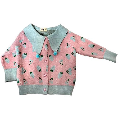 Moejoe Cherry Cute Sailor Sweater