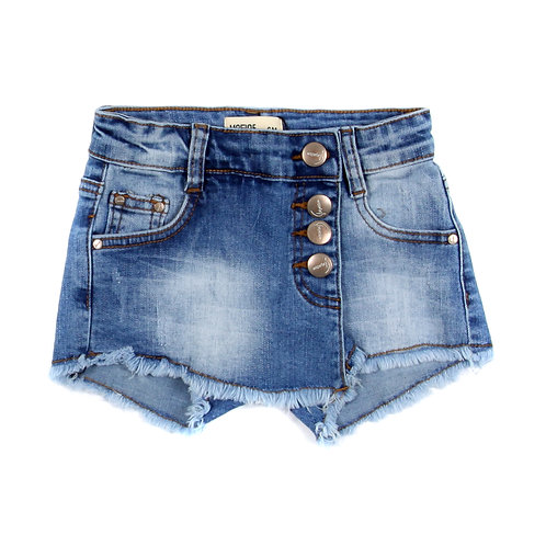 Moejoe Baby Girl Big Button Jeans Shorts