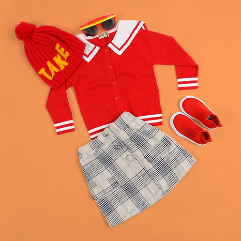 Moejoe Girl Sailor Sweater