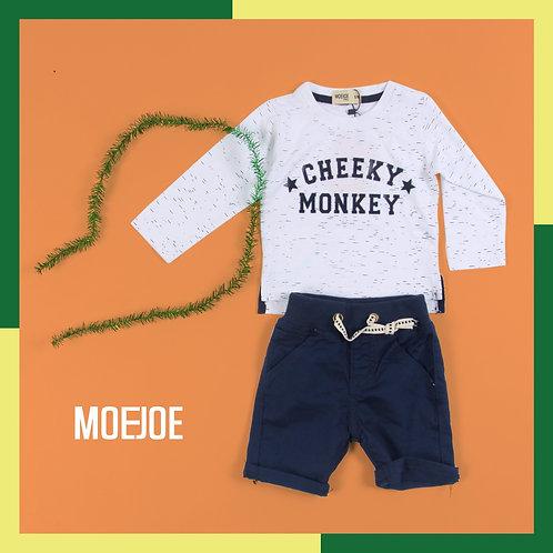 Cheeky Monkey Long Tee