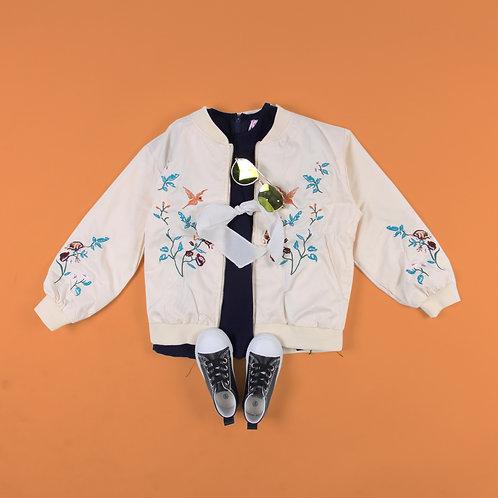 Floral & Bird Jacket