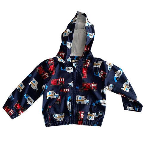 Moejoe Boy Cars Windbreaker Jacket