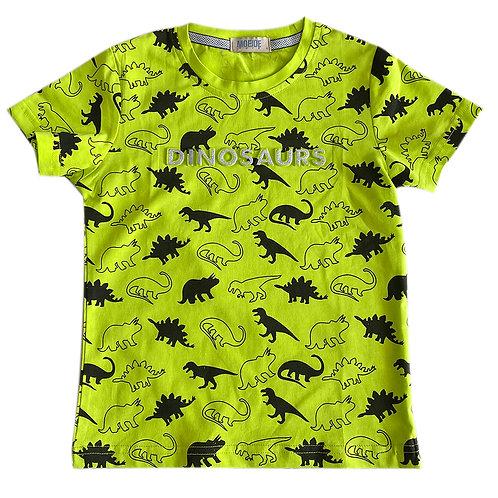 MOEJOE Boy Dinosaurus Full Printed Tees