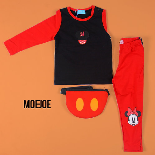 Minnie Mouse Long Sleeves Tee