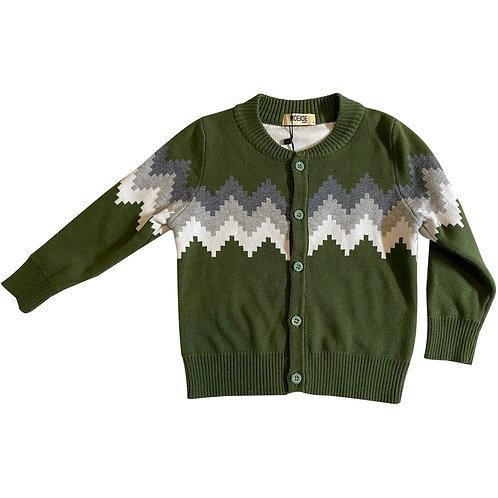 Moejoe Tribal Knitted Boy Cardigan