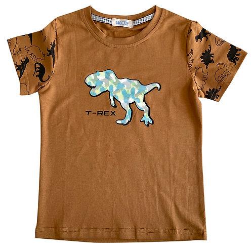 MOEJOE Boy T-Rex Printed Tee