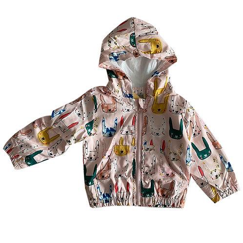 Moejoe Girl Kitty Windbreaker Jacket