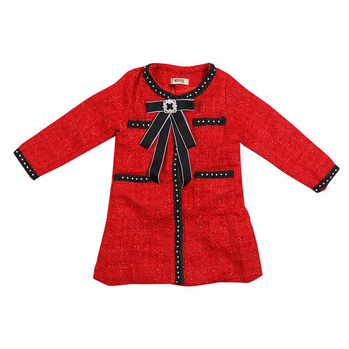 Moejoe Girl Dots Line Dress