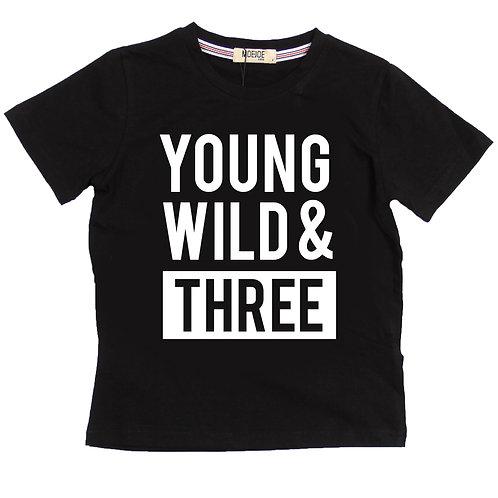 MOEJOE Boy Custom Boy T-Shirt / Kaos Kustom Nama