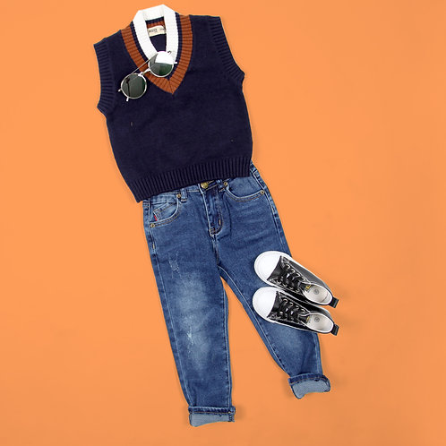 Moejoe Boy Net Vest