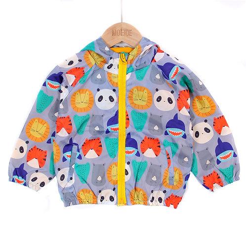 Moejoe Boy Animals Printed Jacket
