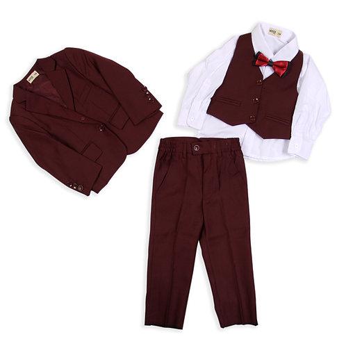 MOEJOE Maroon Suit