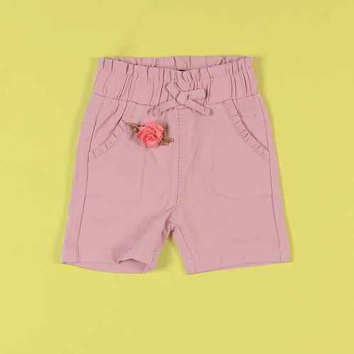 Mini Rose Short Pants