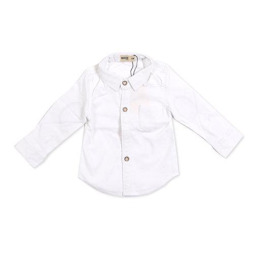 Moejoe Baby Boy Elbow Patch Shirt