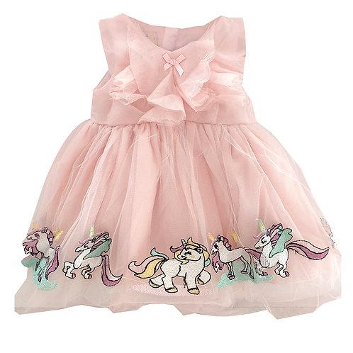 Moejoe Baby Cute Unicorn Baby Dress