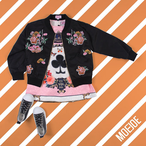 Colorful Floral Jacket