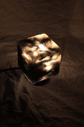 Resin & Steel Wool Lamp