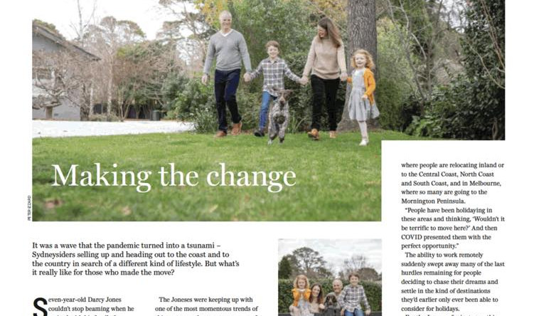 COMMISSIONED SHOOTS FOR SYDNEY MORNING HERALD & DOMAIN MAGAZINE ARTICLES