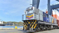 DAKC NEWS: Puerto Santa Marta recibió un tren con aroma de café