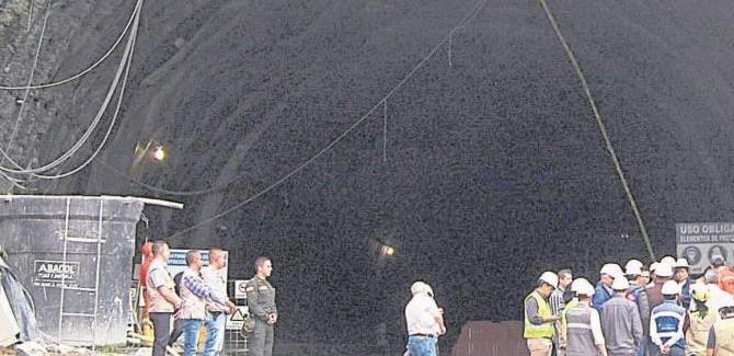 DAKC NEWS: Primeros 4 km de obras del túnel de La Línea estarán listos este mes