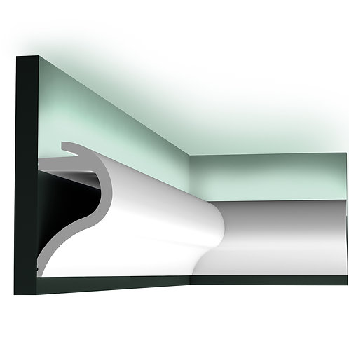C364 ' WAVE' UPLIGHTING CORNICE