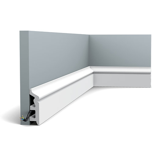 SX122 SMALL OGEE SKIRTING BOARD