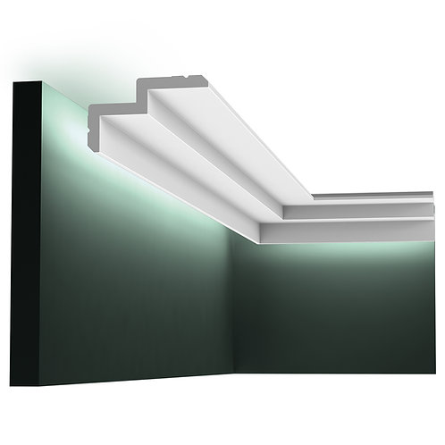 C390 'STEPPED' DOWNLIGHTING COVING