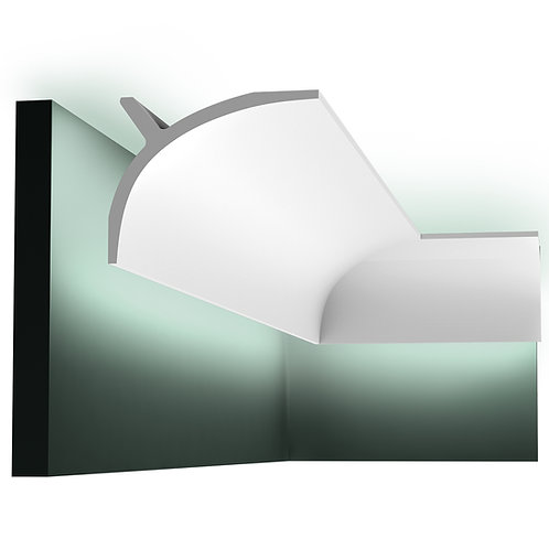 C991 PLAIN 'CURTAIN' DOWNLIGHTING COVING