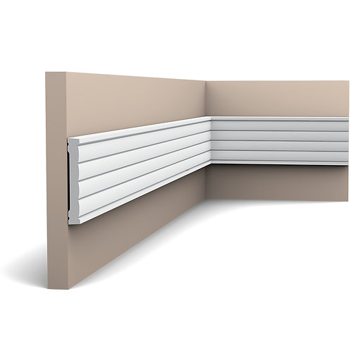 P5020 PLAIN DADO RAIL / PANEL MOULDING