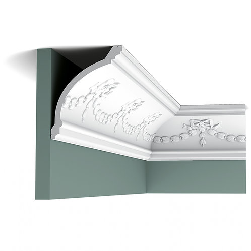 C218 SWAG & BOW DECORATIVE COVING