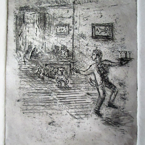Etching - 'Remains of the Day'