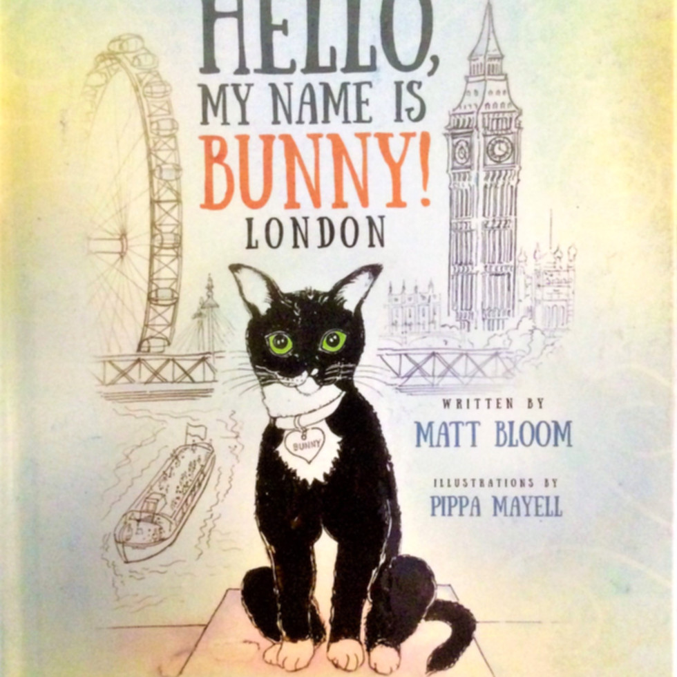 'Hello! my Name is Bunny, London' (cover illustration)