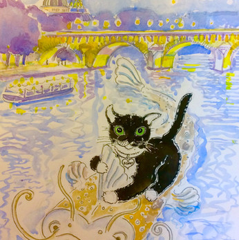 'Hello! My Name is Bunny, Paris'