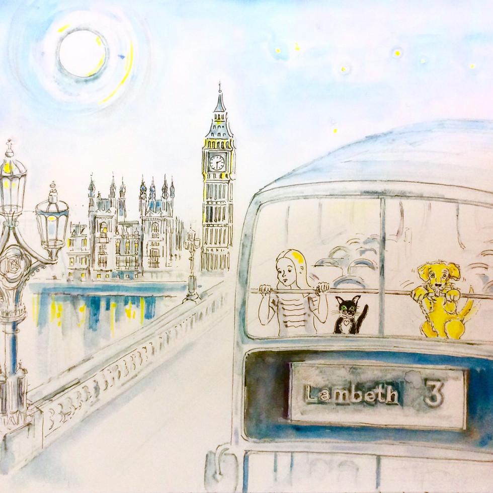 'Hello! My Name is Bunny, London'