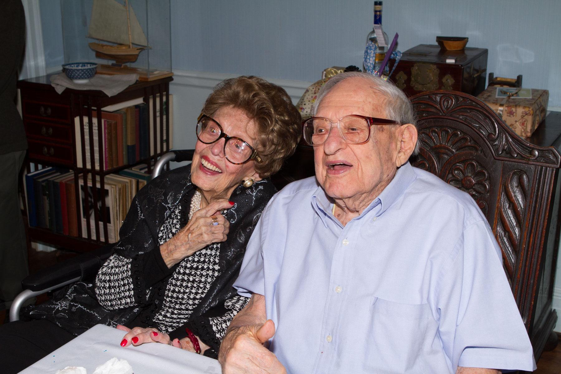Irving Kahn's 105th birthday