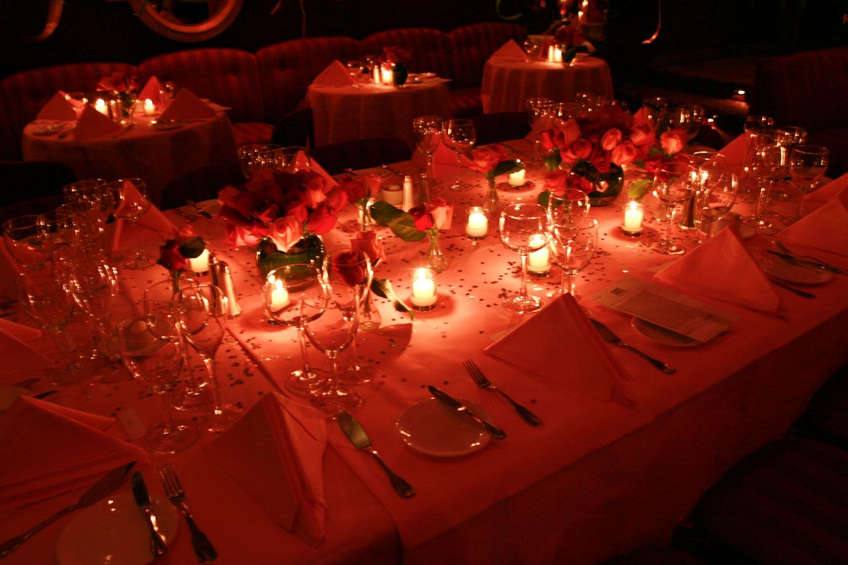 Doubles Table Setting