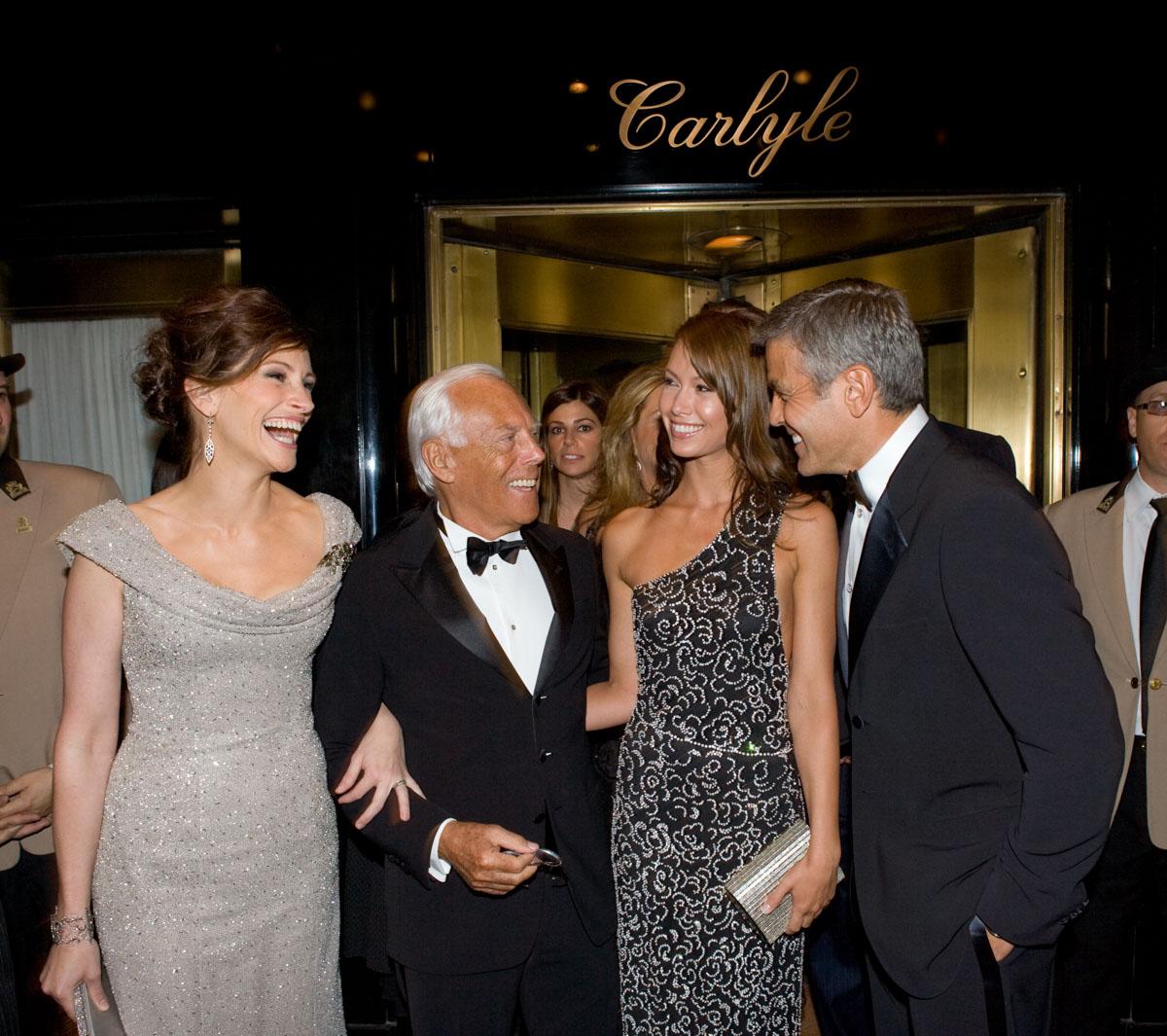 Roberts, Armani, Clooney