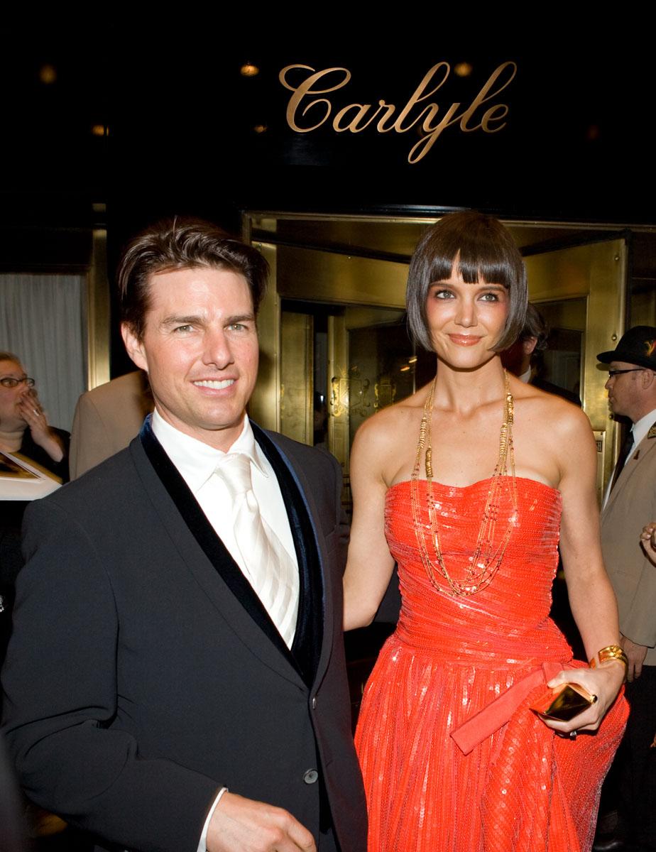 Tom Cruise, Katy Holmes