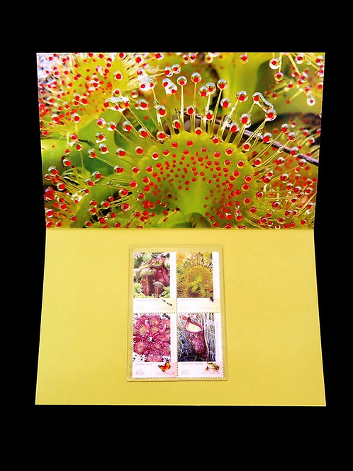 Australian Carnivorous Plants stamp pack